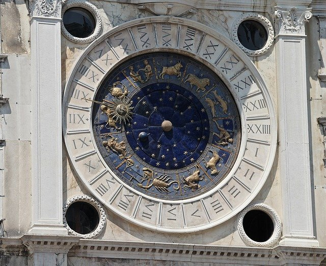 A clock on the front of a building